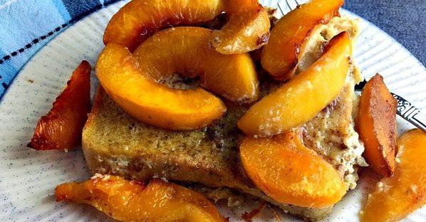 Paleo Peach French Toast