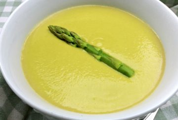 Dairy-free Creamy Asparagus Soup